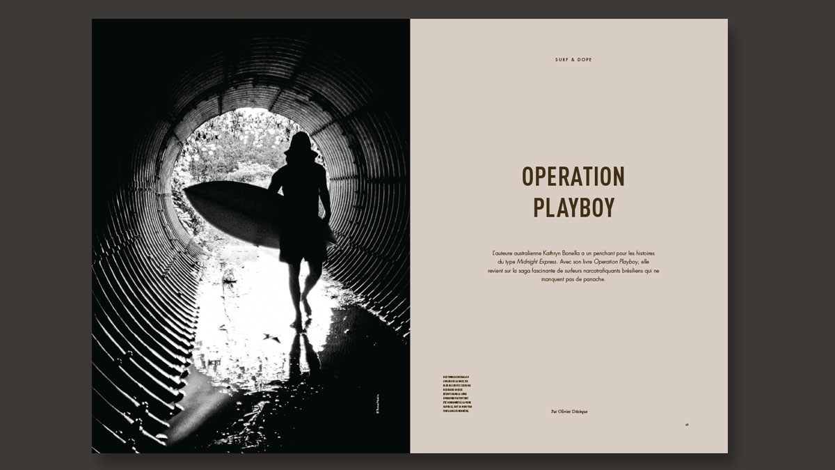 Beach Brothers Operation Playboy Article